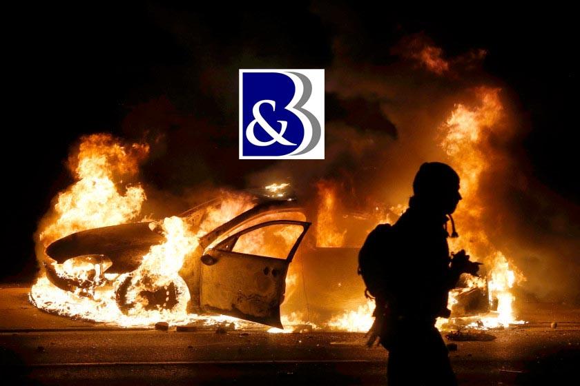 avocat incendie de véhicule, incendie de voiture, avocat indemnisation voiture incendiée