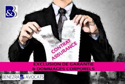 clause d'exclusion de garantie, opposabilité exclusion de garantie, avocat exclusion de garantie, contrer clause exclusion de garantie