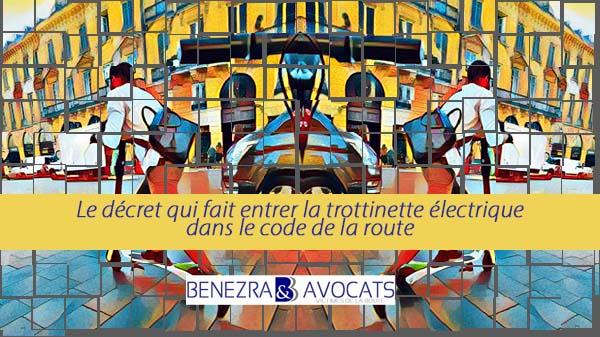 décret trottinette, le décret sur les trottinettes électriques, trottinettes électriques code de la route,